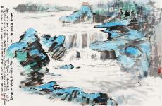 现代艺术家潘天寿是国画花鸟画师傅
