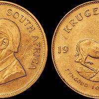 1979年南非克鲁格1盎司金币1枚