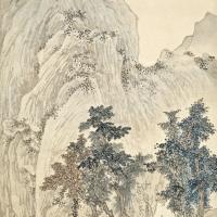 江兆申 高岩绿波