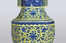 清道光年间瓷瓶或10万镑拍卖