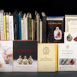鼻烟壶书籍56册、鼻烟壶拍卖图录35册共91册
