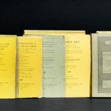 1935-1971年纽约帕克勃内拍卖图录159册、1940年苏富比欧默福普洛斯专场拍卖图录1册等共163册