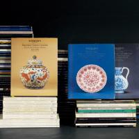 苏富比、佳士得瓷器工艺品拍卖图录共131册