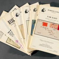 1974-1983年Robson Lowe公司邮品拍目7册