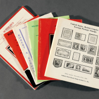 1974-1994年国外邮品拍目6册