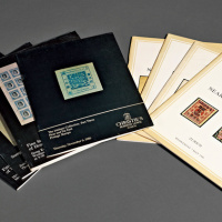 1984-1992年佳士得/ROBSON LOWE/SWIRE公司邮品拍目8册