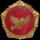"""""""和平万岁""""抗美援朝纪念章"""