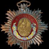 唐继尧像拥护共和铜质奖章