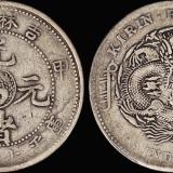 吉林甲辰大字7.2钱银币/PCGS VF25
