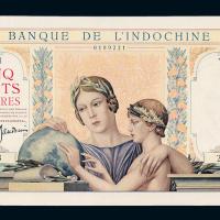 1951年东方汇理银行伍佰圆一枚