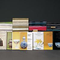 1936-1937 《参加伦敦中国艺术国际展览会出品图说》4册、1979-2011 苏富比、佳士得拍卖图录181册