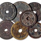 吉语图案/宗教类花钱1组7枚