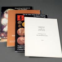 1976-2011年钱币书籍及拍卖图录1组4册