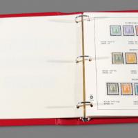 1946-1949年东北区邮票定位册1册