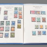 1945-1950年解放区邮票650余枚