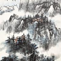 吴一峰 峨眉横古雪