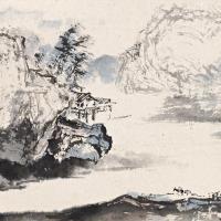 杨善深 溪山行旅