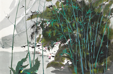 近现代名家书画收藏展亮相北京草人艺术馆