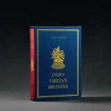 1981年 英文版《印度与西藏的金铜佛造像》1函1册