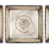 1945年方形银盘3件