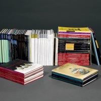 1980至2015年 瓷器工艺品拍卖图录85册