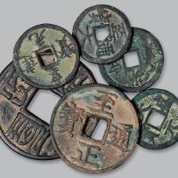 西夏、元代古钱币6枚