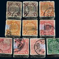 伦敦版蟠龙邮票1000枚