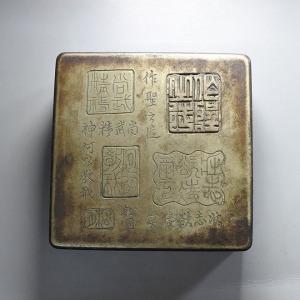 民国铜墨盒交易价格