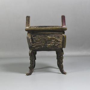 四足铜香炉交易价格