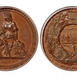 1844年德国工业博览会纪念铜章/PCGS SP63
