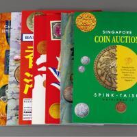 香港、新加坡拍卖会目录九册