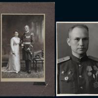 民国获颁云麾、嘉禾等勋章的外籍军官照片各一张
