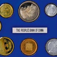 1981年中国人民银行发行套装精制流通硬币八枚全套
