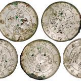 湖北省造光绪元宝库平一钱四分四厘银币一组五枚