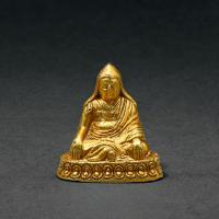 清早期(十七世纪后半至十八世纪前半) 铜鎏金笃补巴