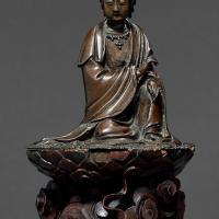 清早期 铜观音坐像