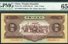 第三套人民币背绿水印纸币详情