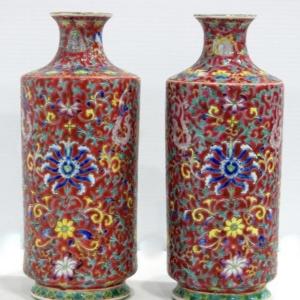 民国瓷器瓶