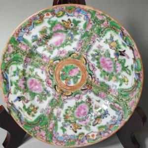 民国彩色瓷盘
