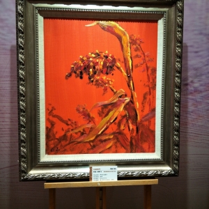 此画为刘铁飞的油画,请问现在市场价多少?鉴定真假