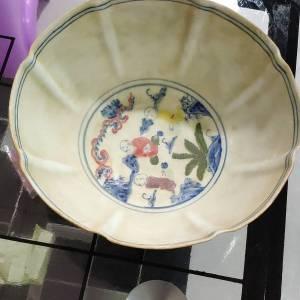 大明成化年制瓷碗