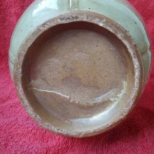 鉴定估价转让,北宋官窑青釉执壶。鉴定真假