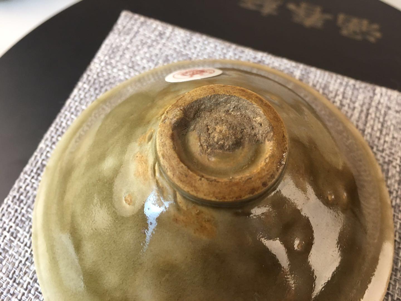 耀州窑团菊盏鉴定结果