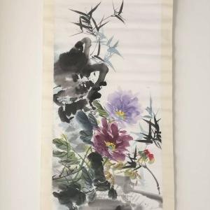 元清花卉横幅鉴定真假