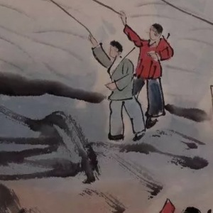 陆俨少《一定要解放台湾》鉴定真假