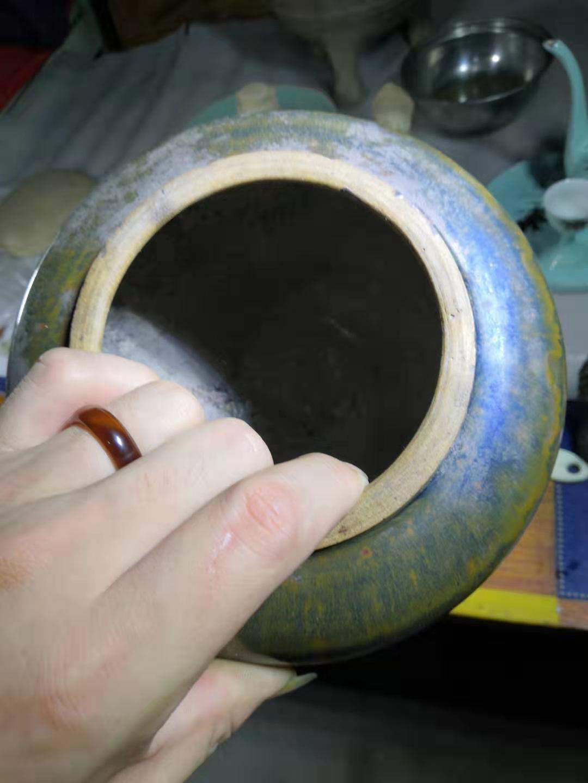 清代磁州窑酱釉罐鉴定结果