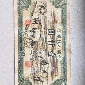 第一套人民币饮马图鉴定真假