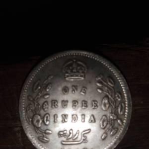 英属印度爱德华七世纪银元鉴定真假