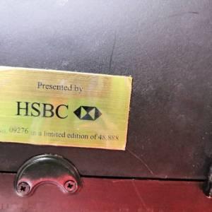 1923年香港上海汇丰银行拾圆纪念金箔鉴定真假