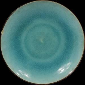 绿釉瓷盘子鉴定真假